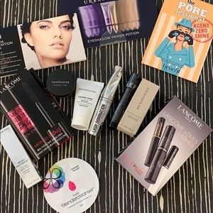 All new makeup samples/trace sized bundle